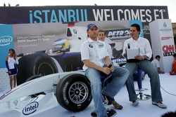 Intel event in downtown Istanbul: Nick Heidfeld