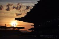 The circuit at sunrise