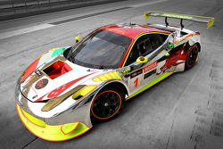 Clearwater Racing Ferrari livery