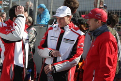 Neel Jani, Marc Lieb and Marcel Fassler