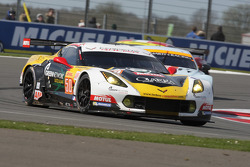 #50 Larbre Competition Chevrolet Corvette C7.R: Gianluca Roda, Paolo Ruberti, Kristian Poulsen