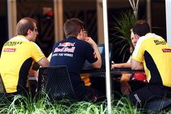 Red Bull Racing en Renault Sport F1-vergadering