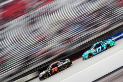 Martin Truex Jr., Furniture Row Racing Chevrolet and Ricky Stenhouse Jr., Roush Fenway Racing Ford