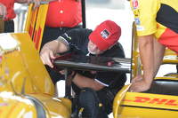 Andretti Autosport goes through tech inspection