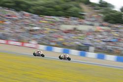 Ducati race action