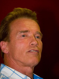California Govenor Arnold Schwarzenegger