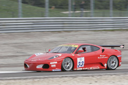 #33 JMB Racing Ferrari 430 Challenge GT3: Nicolas Comar, Philippe Rambeaud