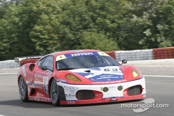 #63 Scuderia Ecosse Ferrari 430 GT2: Chris Niarchos, Tim Mullen