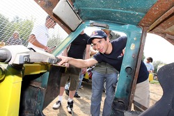 Scuderia Toro Rosso Apecar race: Neel Jani