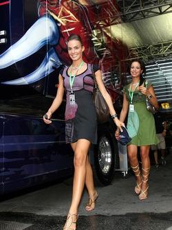 Formula Unas girls Simona Quaranta and Claudia Cimini