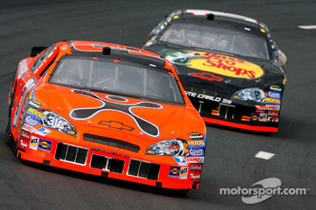 Jeff Burton and Martin Truex Jr.