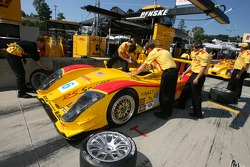 Penske Motorsports team members at work