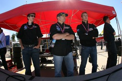 Tom Milner, Scott Maxwell and Sébastien Bourdais