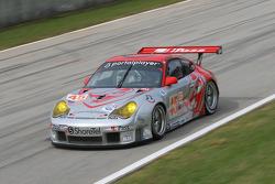 #45 Flying Lizard Motorsports Porsche 911 GT3 RSR: Johannes van Overbeek, Wolf Henzler, Marc Lieb