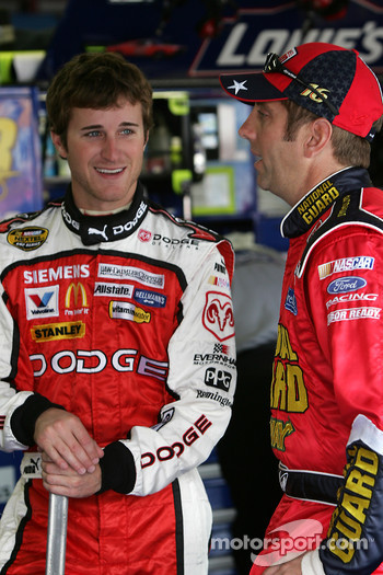 Kasey Kahne and Greg Biffle