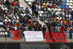 Banners for Michael Schumacher