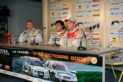 Tom Kristensen, Bruno Spengler and Mika Hakkinen