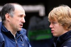 Franz Tost and Sebastian Vettel