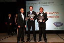 GT1 champions: Oliver Gavin and Olivier Beretta