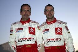 Xavier Pons and Carlos Del Barrio