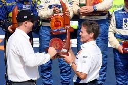 Podium: Malcom Wilson, BP Ford WRC team principal
