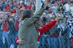 Luca di Montezemolo and Michael Schumacher