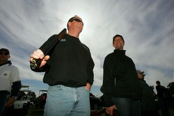 Beretta Celebrity Clay Shoot, at the Circle T Ranch in Fort Worth, Texas: Tony Raines and Kyle Petty