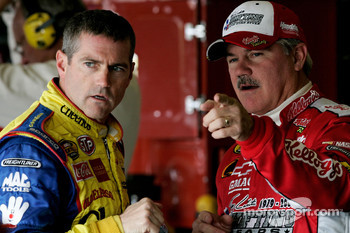 Bobby Labonte and Terry Labonte