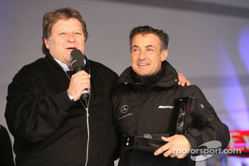Norbert Haug and Jean Alesi