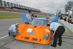 #12 RVO Motorsports Pontiac Riley: Roger Schramm, Jack Baldwin
