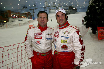 Visit of Ski Dubai: Tim Sugden and Iradj Alexander