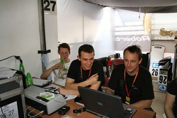 Mike Conway, Stephen Jelley, Anthony