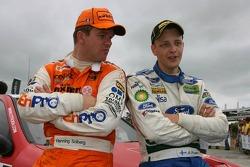 Henning Solberg and Mikko Hirvonen
