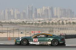 #23 Aston Martin Racing BMS Aston Martin DBR9: Matteo Malucelli, Fabio Babini