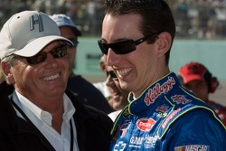 Rick Hendrick and Kyle Busch