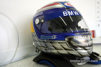 Helmet of Alex Zanardi