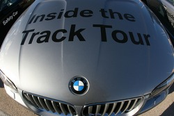 BMW track tour car