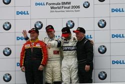 Thoroughbred GP race: podium