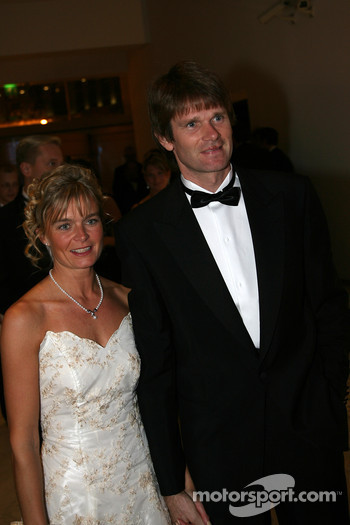 Marcus Grönholm, Double World Rally Champion and wife