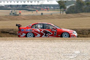 Mark Skaife heading for a podium weekend