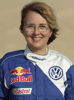 Volkswagen Motorsport presentation in Dubai: Fabrizia Pons
