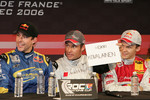 Travis Pastrana, Tom Kristensen and Mattias Ekstrm