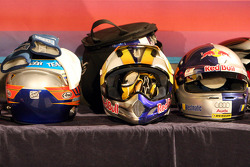 Helmets of the 2006 Race of Champions drivers