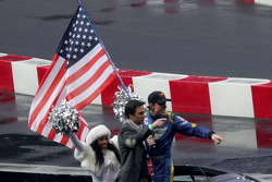 Jimmie Johnson and Travis Pastrana
