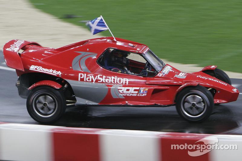 Semi final: David Coulthard