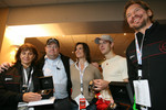 Michle Mouton, Katarina Witt, Fredrik Johnsson and Sbastien Bourdais