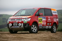Team Repsol Mitsubishi Ralliart shakedown: Team Repsol Mitsubishi Ralliart DELICA D:5