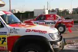 Orlen Team Nissan at scrutineering