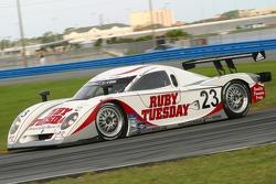 #23 Alex Job Racing Porsche Crawford: Patrick Long, Jorg Bergmeister, Romain Dumas