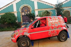 Fiat Panda of Miki Biasion and Tiziano Siviero